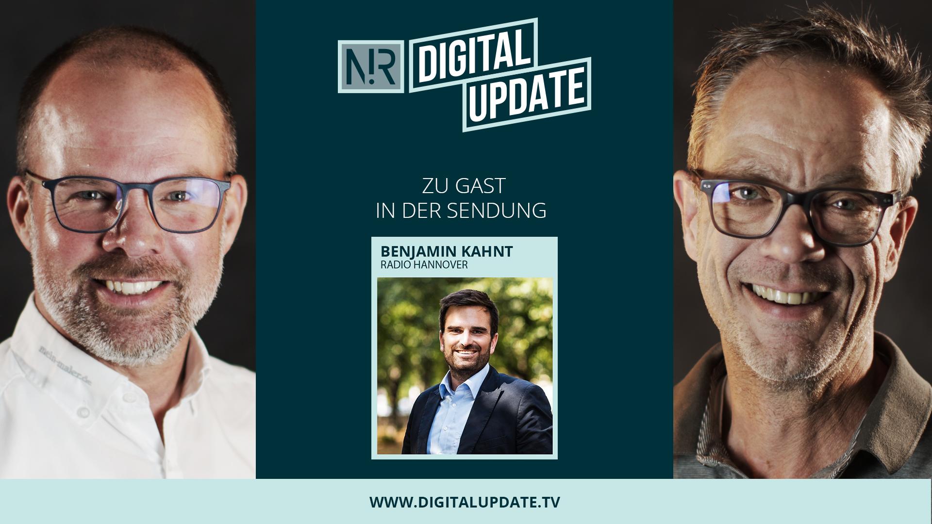 Digitalupdate mit Benjamin Kahnt