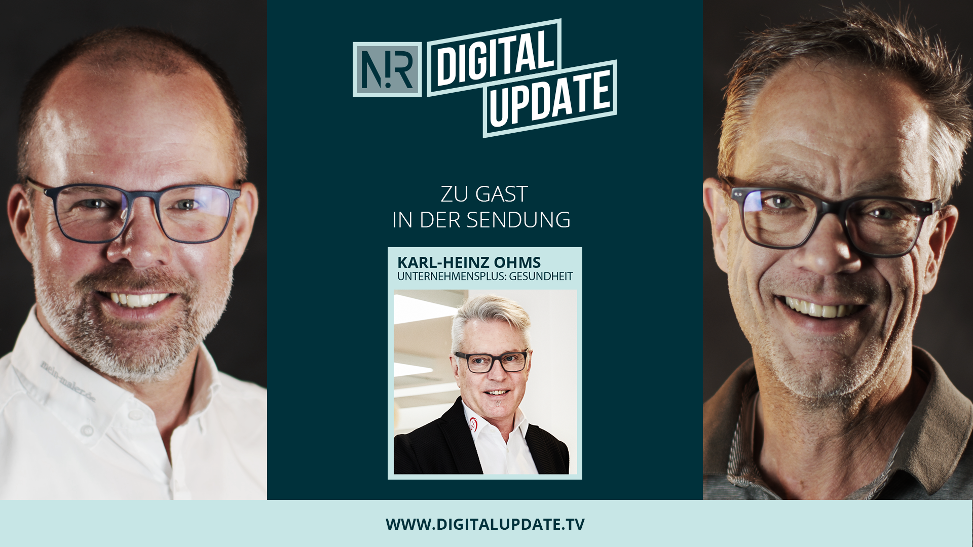Digitalupdate mit Karl-Heinz Ohms