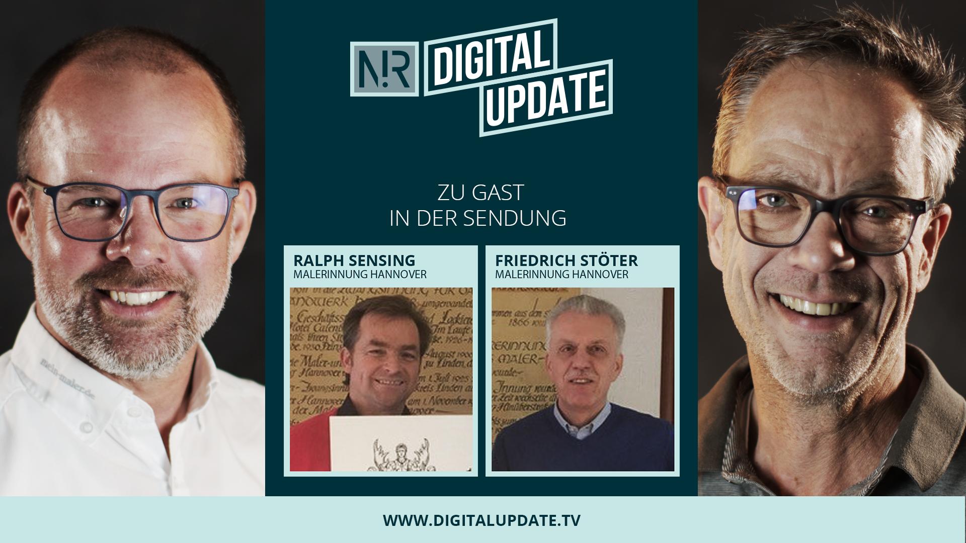 Digitalupdate mit Ralph Sensing und Friedrich Stöter