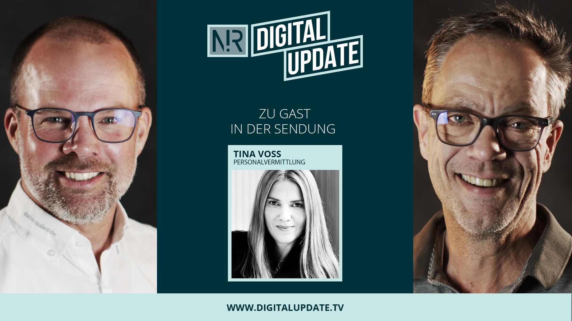 Digitalupdate mit Tina Voß