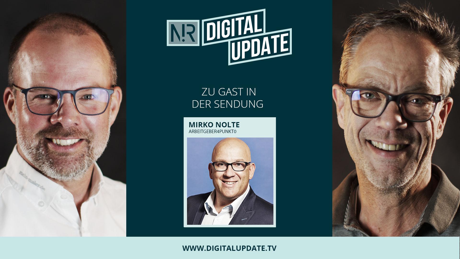 Digitalupdate #45 mit Mirko Nolte